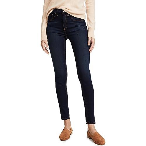 5cc65aac455a66 Rag & Bone/JEAN Women's High Rise Skinny Jeans