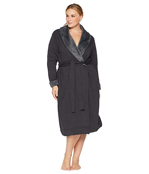 UGG Plus Size Duffield II Robe at Zappos.com 51469a6c5