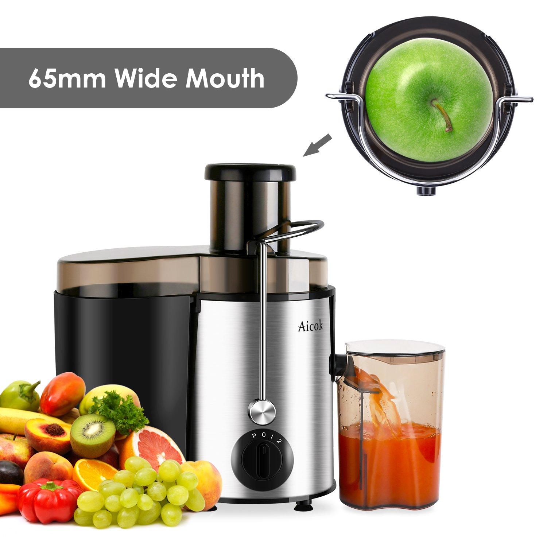 aicok exprimidor Juice Extractor alta velocidad para frutas y ...