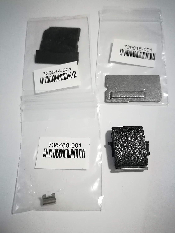 SOUTHERNINTL New Replacement for HP EliteBook 740 745 840 G1 G2 Plastics Kit - Includes an SD Card Insert + RJ-45 Door + Fingerprint Reader Insert + an RJ-45 Spring 730958-001 739015-001 736460-001