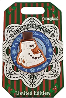 Disney Pin - DLR - Seasons Eatings 2017 - Gingerbread Cars Snowy