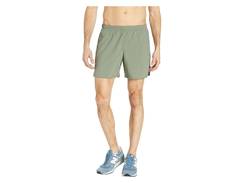New Balance Accelerate 5 Shorts (Mineral Green/Pigment) Men