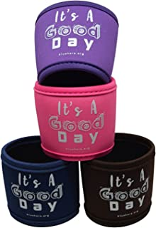 Blushers Neoprene Reusable Cup Sleeve, Cup Grip (Multi)