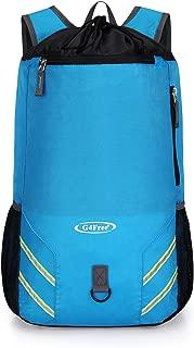 Carry On Backpack Hiking Travel Gym Backpack Foldable Drawstring Bag 32L