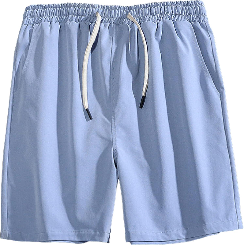 Segindy Men's Casual Sports Shorts Summer Thin Comfortable Breathable Loose Fashion