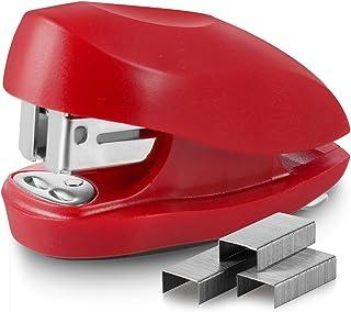 Swingline Red Mini Stapler With Staples, Tot, 12 Sheet Capacity, Small Stapler With Built In Staple Remover & 1000 Standar...