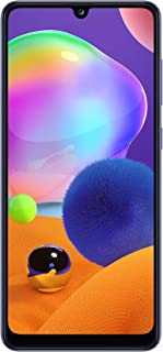 Samsung Galaxy A31 Dual SIM, 128GB, 4GB RAM, 4G LTE, UAE Version - Prism Crush Blue- 1 year local brand warranty