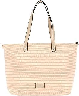 Tamaris Shopper Anja 30164 Damen Handtaschen Uni peach 660One Size