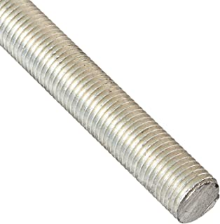Precision Brand 039-37280 Threaded Rod, Electro Zinc Plated, 24