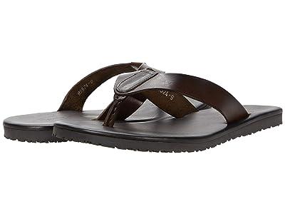 Massimo Matteo Leather Thong Sandal (T. Moro) Men