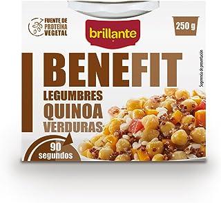 comprar comparacion Brillante Benefit Legumbres Quinoa Verduras 250G - Pack De 16 - Total 4 Kg