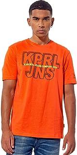 Kaporal - T-Shirt régular Homme avec imprimé en 100% Coton - Velco - Homme