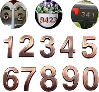 Best house numbers for brick Reviews