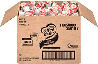 Nestle Coffee mate Coffee Creamer, Original, Liquid Creamer Singles, Box of 360 Singles