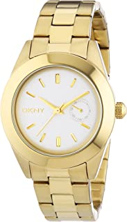 DKNY Womens Quartz Watch, Analog Display and Stainless Steel Strap