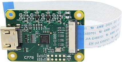 Geekworm Raspberry Pi (ラズベリーパイ)HDMI INモジュール、HDMI to CSI-2(HDMI入力の最大1080p25fps)、Raspberry Pi 4B/3B+/3B/Pi Zero/Zero Wに適用