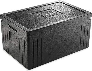 thermohauser EPP-Thermobox GN 1/1 Eco Line schwarz, mit Deckel, 45,0 L