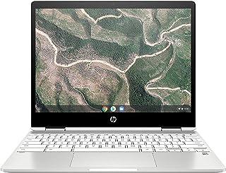 "HP x360 12 ""HD + (1366 x 912) Touch 2-in-1 Chromebook PC, Intel Celeron N4020 Up to 2.8GHz, 4GB RAM, 64GB eMMC, Wireless-A..."