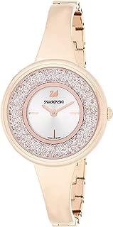Swarovski Womens Quartz Watch, Analog Display and Stainless Steel Strap