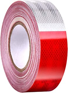 Tape Red White Reflective Tape 2