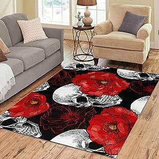 Best skull and crossbones area rug Reviews