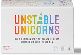 Unstable Unicorns Card Game - A strategic card game and party game for adults & teens