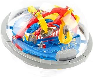 3Dブレインメイズボール バランスゲーム 知育ゲーム 迷路ボール 教育玩具 立体知育玩具 (100 ギミック)