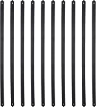 Myard 29-1/2 Inches Heavy Duty Flat Straight Iron Balusters with Screws for Wood Composite Facemount Deck Railing (25-Pack, Matte Black)