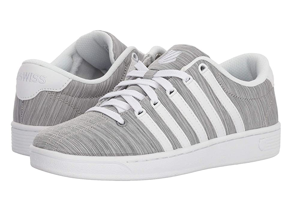 K-Swiss Court Pro II T CMF (White/Black/White) Athletic Shoes
