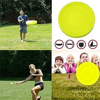 bossMA Zip Chip Frisbee Mini Bolsillo Flexible Suave Nuevo Giro en Juego de Captura Disco Volador Juego de Captura Playa Juguetes al Aire Libre