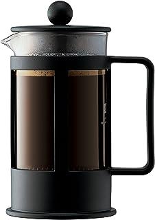 BODUM Kenya 3 kopp franska press kaffebryggare, svart, 0,35 l, 12 oz