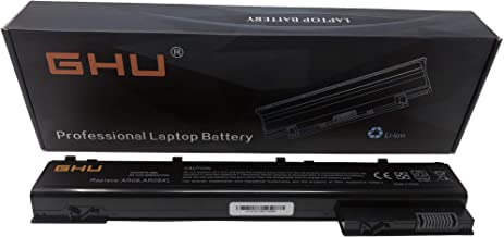 New GHU AR08 Battery Compatible with HP ZBook 15 17 Mobile Workstation Series HP ZBook 17 Series, Part NO. HSTNN-IB4H HSTNN-IB4I 708455-001 [8 Cells 14.8V 5200mAh/77Wh] 12months Warranty