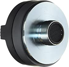 1.5 Inch Tweeter Horn Driver - 500 watt peak power/250 watt RMS Audio Speaker Tweeter System w/ Flat Aluminum Voice Coil, 1.5k-20 kHz Frequency, 95 dB, 8Ohm - Pyle PDS122