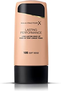 Max Factor Lasting Performance, Liquid Foundation, 105 Soft Beige, 35 ml