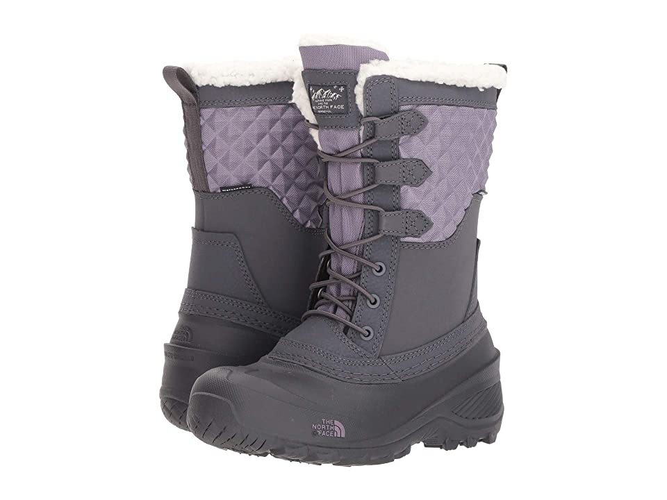 The North Face Kids Shellista Lace III (Toddler/Little Kid/Big Kid) (Periscope Grey/Purple Sage) Girls Shoes