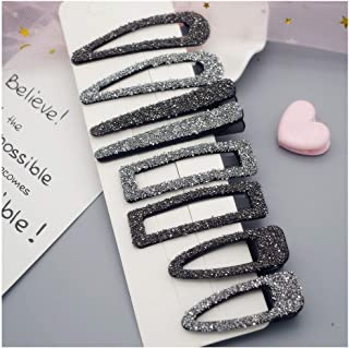 8 Pcs Rhinestone Crystal Hair Clips Alligator Hair Barrettes Water Drop Hair Pin Hair Accessories Headwear Fashion Hair Accessories for Women