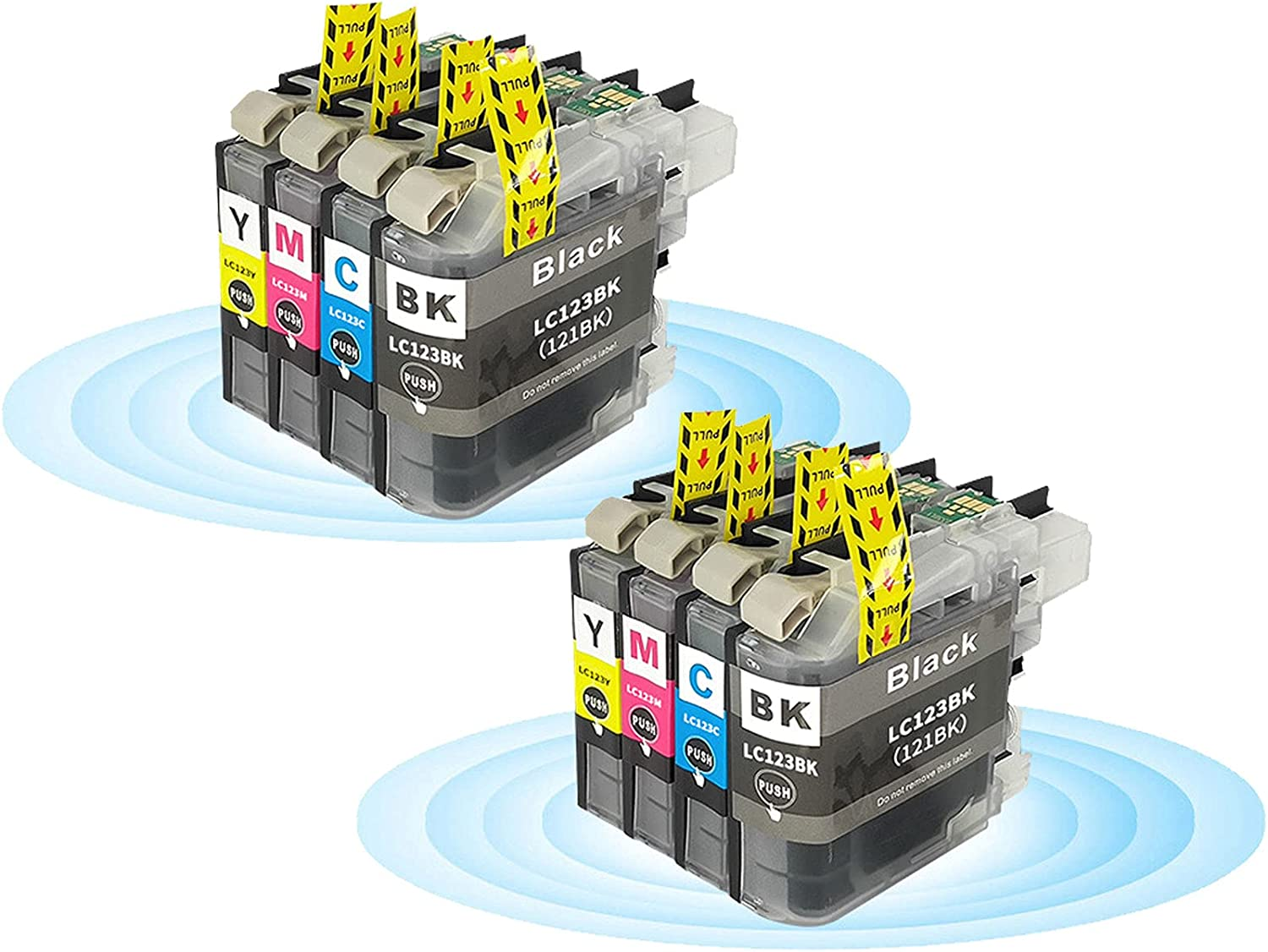 Large special price !! FOBCO Smart famous Print Supplies Compatible Ink LC123 Cartridge Replac
