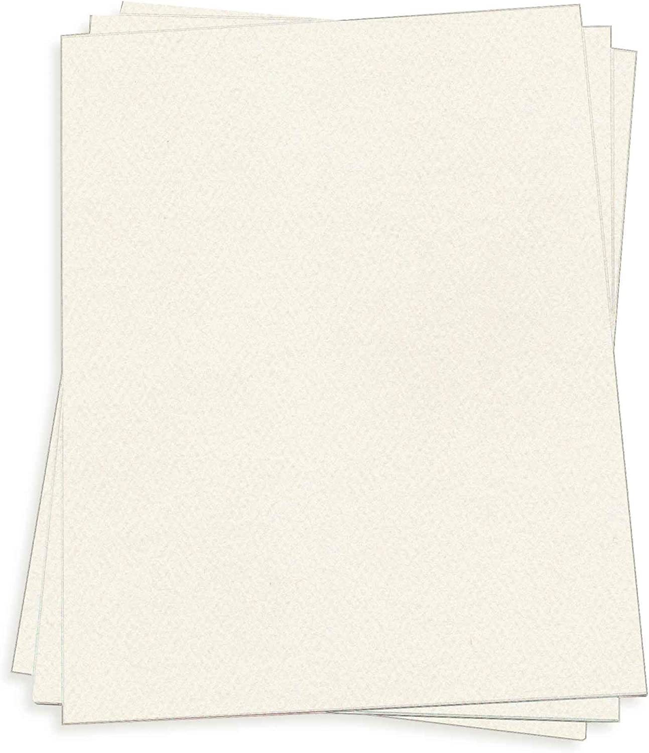 Branded goods Warm Cream Card Stock - 12 x 80lb Felt Pack 18 250 LCI Cover Manufacturer regenerated product
