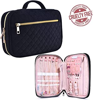 fabric travel jewelry organizer