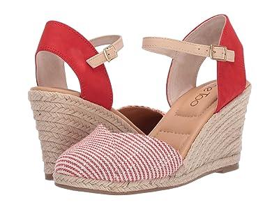 Me Too Brenna (Red Stripe Fabric) Women