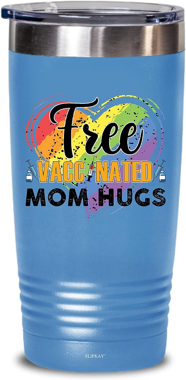 Gay Pride Lesbian Free Vaccinate Mom 20oz Hugs Gift Tumbler Charlotte Mall Lgbt online shop