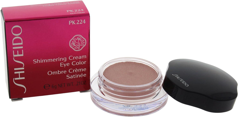 Shiseido Shimmering Cream Eye Farbe unisex, Lidschatten 6 g, Farbe  PK224 - mousseline, 1er Pack (1 x 0.023 kg)