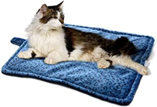 Milliard Thermal Cat Mat/Self Heating to Keep Your Pet Warm and Reversible and Washable for Easy Maintenance - 21in x 17in