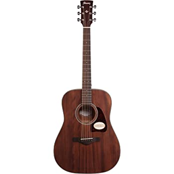 Ibanez AW54OPN Artwood Dreadnought Acoustic Guitar - Open Pore Natural