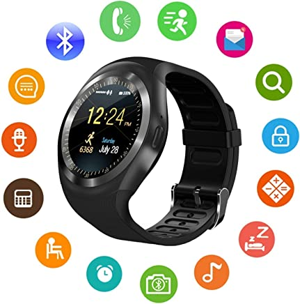 ZILANT Unisex Bluetooth 4g Smart Watch for Men/Girls/Women/4g Sim Card Support/Touch Screen/Compatible with All Android Mobile Phones,Smart Watches for Kids Boys,Digital Watch for Boys (Random Color)