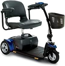 Pride Mobility - Go-Go Elite Traveller Plus - Lightweight Travel Scooter - 3-Wheel - Blue