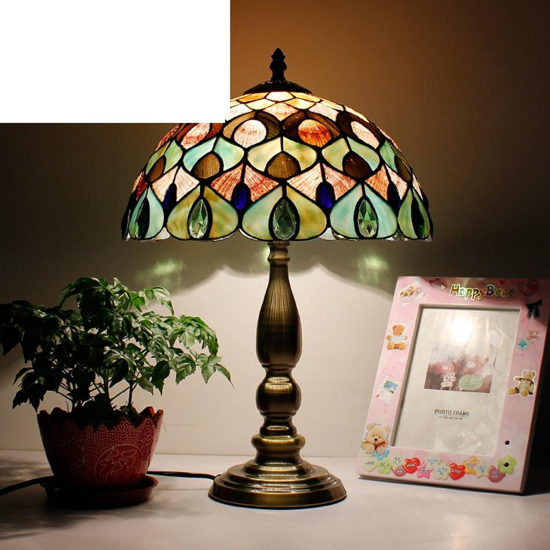 Schlafzimmer bett lampe Schale dekorative tischleuchte Wohnzimmer Wohnzimmer Wohnzimmer studieren warme lampen-H B077NW8TYP     | 2019  f12963