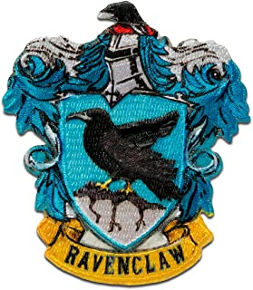 Harry Potter © Ravenclaw Crest - Parches termoadhesivos bordados aplique para ropa