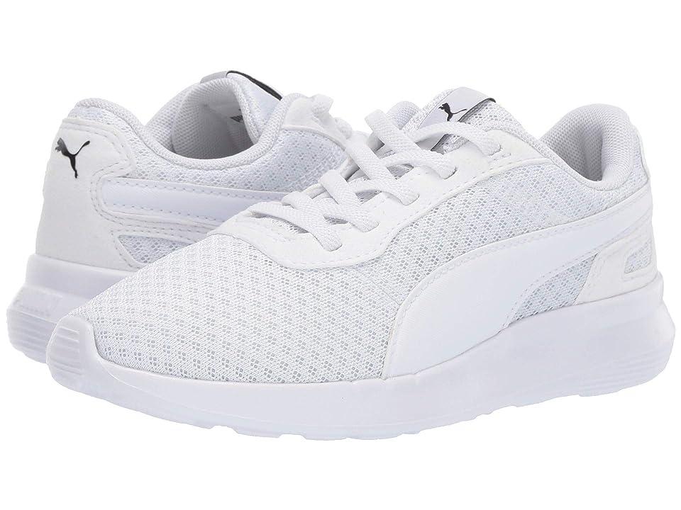 Puma Kids ST Activate AC (Little Kid/Big Kid) (Puma White/Puma White) Kids Shoes