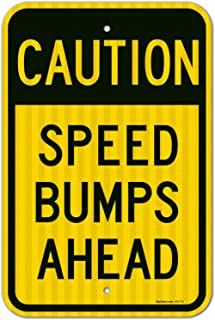 Best speed bump sign Reviews